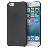 Apple iPhone 6 Plus siliconen (gel) achterkant hoesje - Zwart
