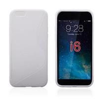Apple iPhone 6 Plus siliconen S-line (gel) achterkant hoesje - Wit
