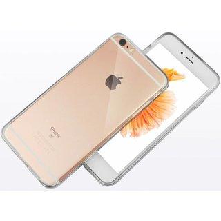 Apple iPhone 6 / 6S siliconen (gel) achterkant hoesje - Transparant