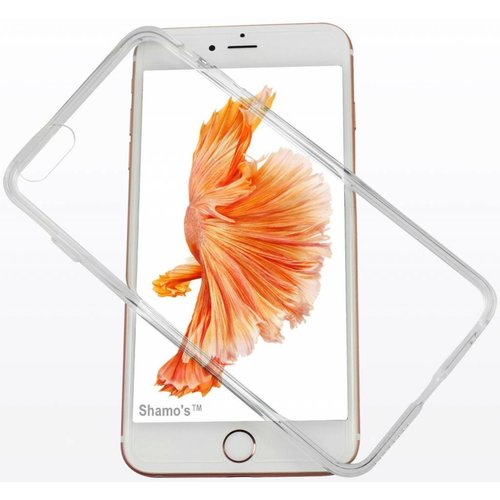 Apple iPhone 6 / 6S siliconen (gel) achterkant hoesje - Transparant
