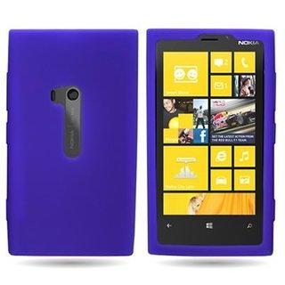 Nokia Lumia 920 siliconen (gel) achterkant hoesje - Paars