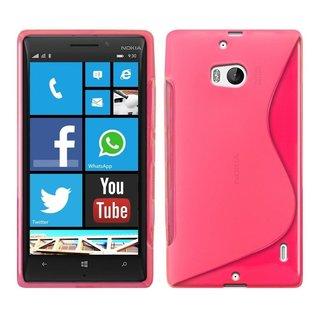 Nokia Lumia 930 / 929 siliconen S-line (gel) achterkant hoesje - Roze