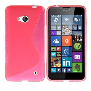 Nokia Lumia 640 / Microsoft Lumia 640 siliconen S-line (gel) achterkant hoesje - Roze
