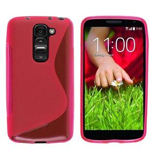 LG G2 Mini siliconen S-line (gel) achterkant hoesje - Roze