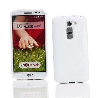 LG G2 Mini siliconen S-line (gel) achterkant hoesje - Wit