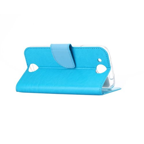 Bookcase Huawei Ascend G7 hoesje - Blauw