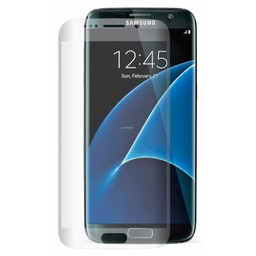 Tempered Glass Samsung Galaxy S7 Edge 3D Curved Full Screenprotector - Transparant
