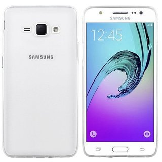 Samsung Galaxy J5 (2016) siliconen achterkant hoesje - Transparant