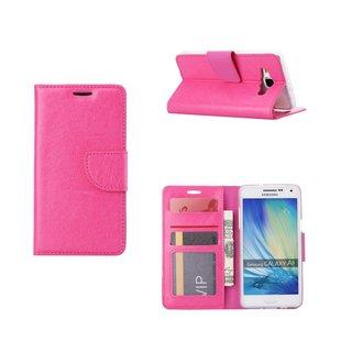 Bookcase Samsung Galaxy A5 hoesje - Roze