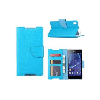 Bookcase Sony Xperia Z2 hoesje - Blauw