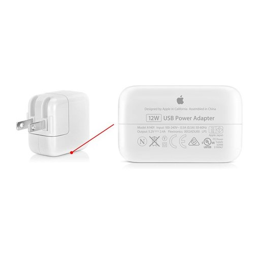 Apple 12W USB Originele Power Adapter Kop - MD836ZM/A