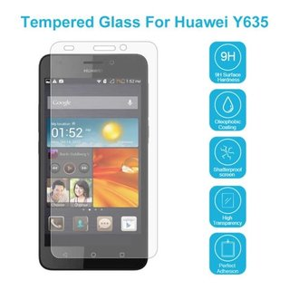 Huawei Ascend Y635 Screenprotector - Glas
