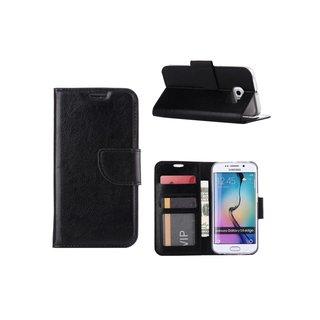 Bookcase Samsung Galaxy S6 Edge hoesje - Zwart