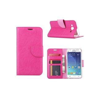 Bookcase Samsung Galaxy J5 hoesje - Roze