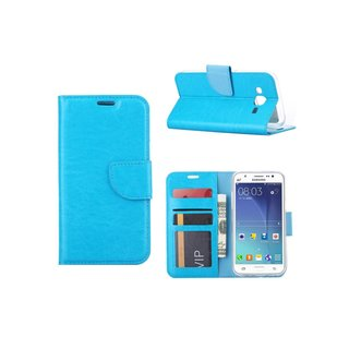 Bookcase Samsung Galaxy J5 hoesje - Blauw