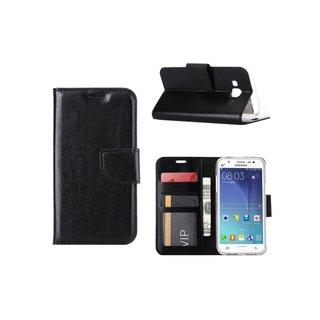 Bookcase Samsung Galaxy J5 hoesje - Zwart