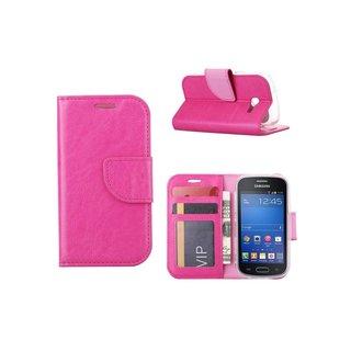 Bookcase Samsung Galaxy Trend Lite hoesje - Roze