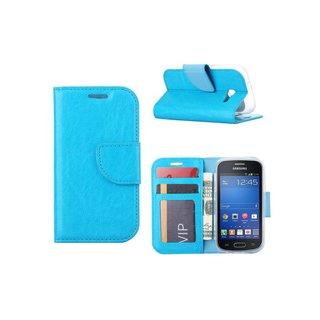 Bookcase Samsung Galaxy Trend Lite hoesje - Blauw