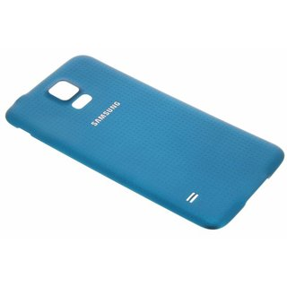 Galaxy S5 Originele Batterij Cover - Blauw