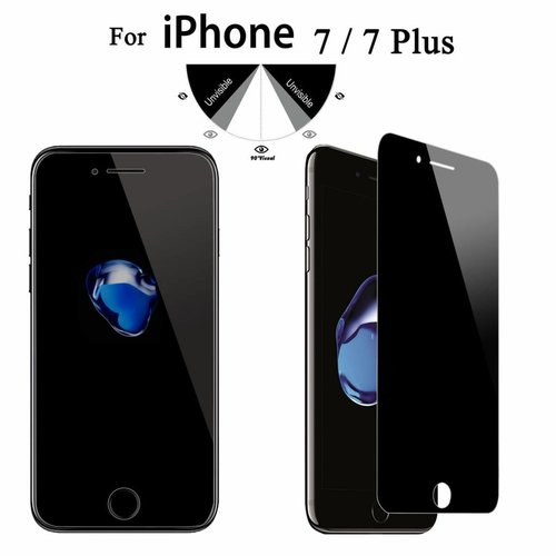 Apple iPhone 7 Plus Privacy Screenprotector - Glas