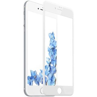 Apple iPhone 6 Plus / 6S Plus Anti Blue Light Fullscreen Screenprotector - Glas - Wit