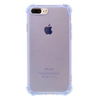 Bumpercase hoesje voor de Apple iPhone 7 / 8 Plus - Transparant