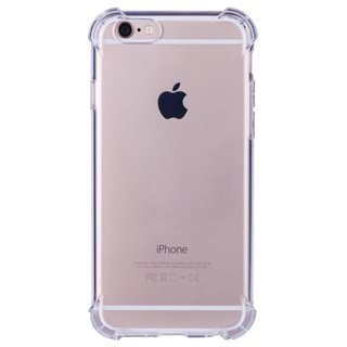 Bumpercase hoesje voor de Apple iPhone 6 Plus / 6S Plus - Transparant