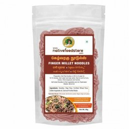 Native Food Finger Millet Noodles - 70 gr ( Ragi )