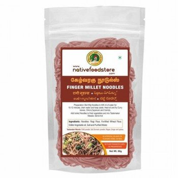 Native Food Ragi / Finger Millet Noodles - 70 gr ( Ragi )