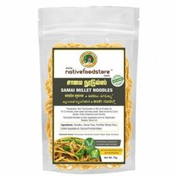 Native Food Little Millet Noodles -70 gr ( Samai )