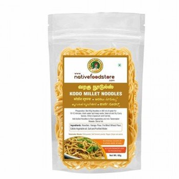 Native Food Kodo Millet Noodles - 70 gr ( Varagu )