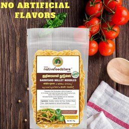 Native Food Barnyard  Millet Noodles - 70 gr ( Kuthiraivali )