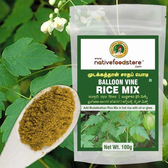 Native Food Mudakathan / Balloon Vine Rice Mix ,100 gr