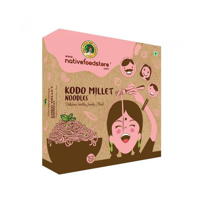 Native Food Varagu / Kodo Millet Noodles - 210 gr