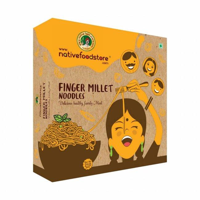 Native Food Ragi / Finger Millet Noodles - 225gr