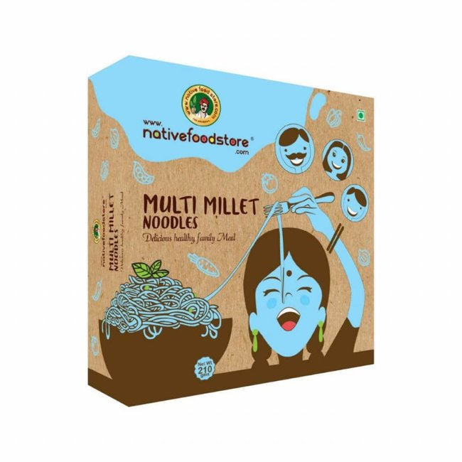 Native Food Multi Millet Noodles, 210 gr