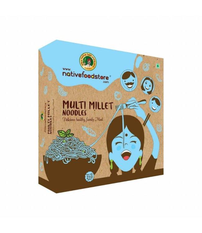 Native Food Multi Millet Noodles - 210 gr