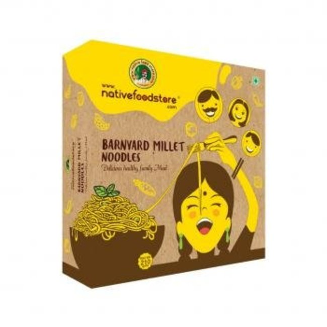 Native Food Kuthiraivali / Barnyard Millet Noodles - 210 gr