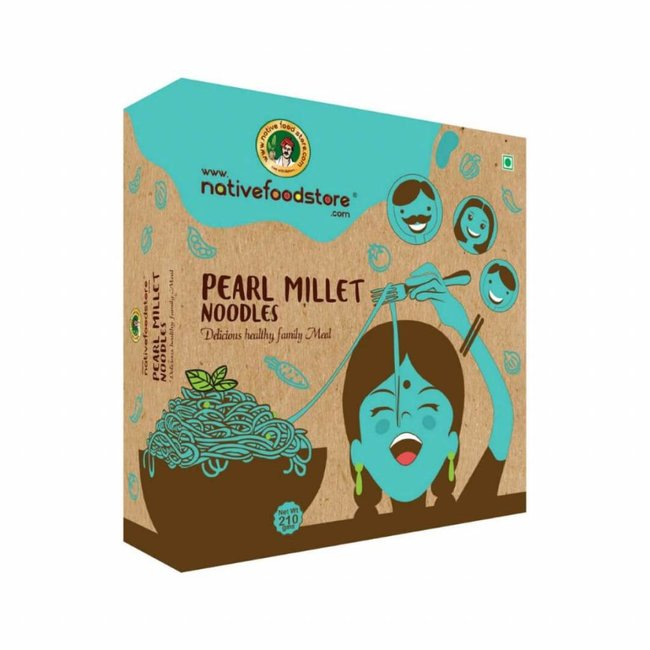 Native Food Kambu / Pearl Millet Noodles - 210 gr