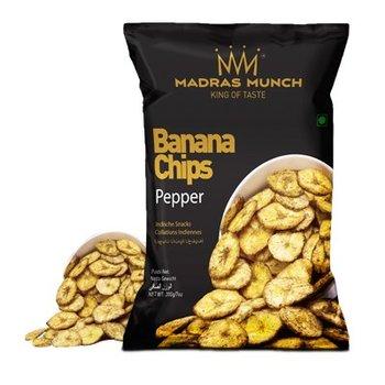 Madras Munch  Banana Chips – Pepper 200gr