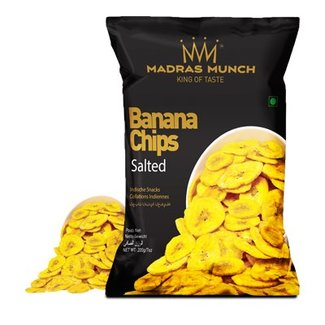 Madras Munch  Banana Chips – Salted 200 gr