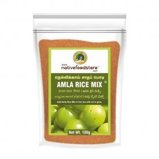 Native Food Amla Rice Mix (kruisbes rijst kruidenmix), 100 gr
