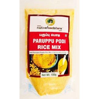 Native Food Paruppu Podi/Dal Powder/Dhal powder / Kandhi Podi / Spiced Lentil powder100 gr
