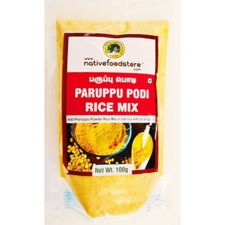 Native Food Paruppu Podi Rice Mix, 100 gr