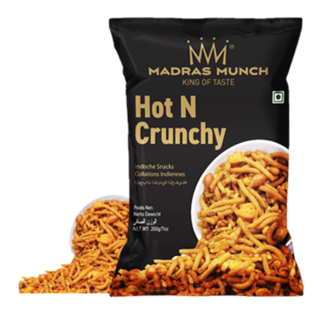 Madras Munch  Hot N Crunchy 200 gr