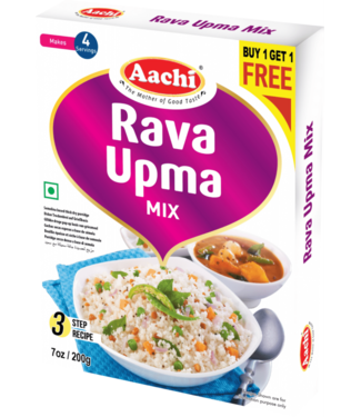 Aachi Masala Aachi Rava Upma Mix, 200 gr (Buy1-Get1 Free)