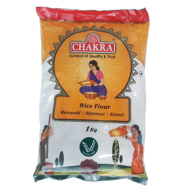 Chakra Rice Flour, 1 kg