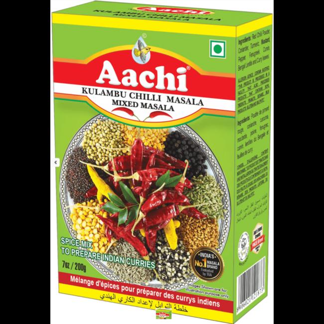 Aachi Masala Kulambu Chilly Masala (kruidenmix Indiase curry)