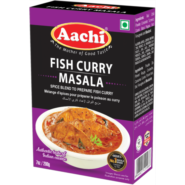 Aachi Masala Fish Curry Masala (kruidenmix vis curry)