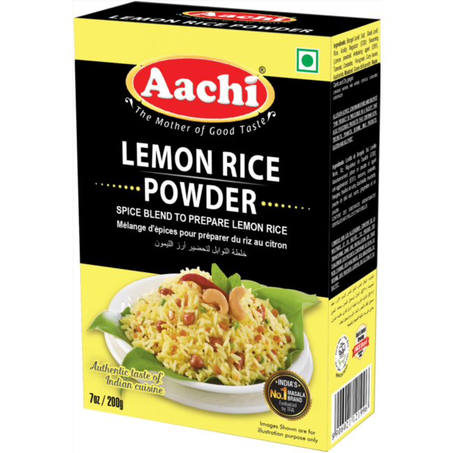 Aachi Masala Lemon Rice Powder (kruidenmix citroen rijst)